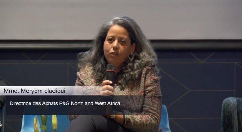 Mme Meryem ELADIOUI - Directrice Achats P&G North & West Africa